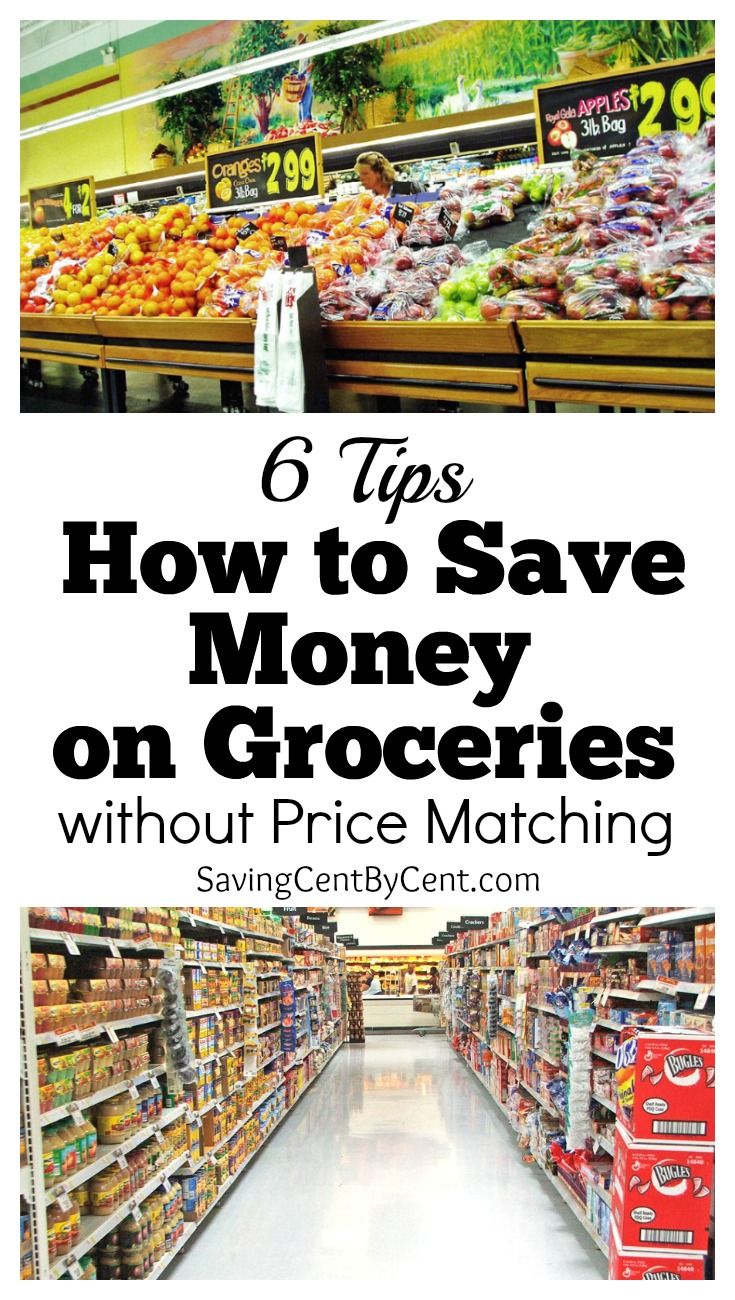 how to save money on groceries without price matching