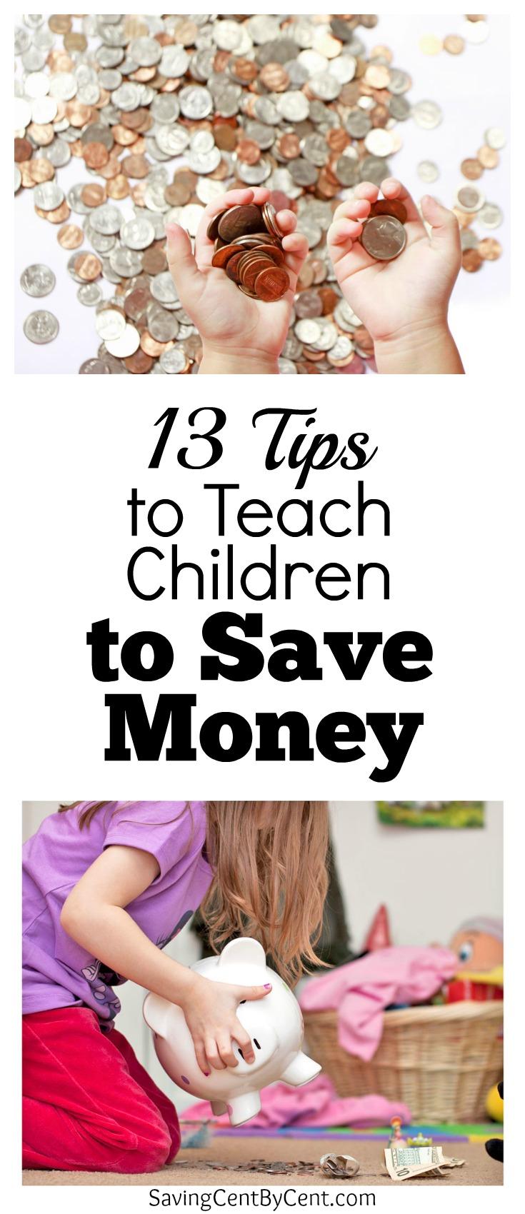 Teach Children to Save Money