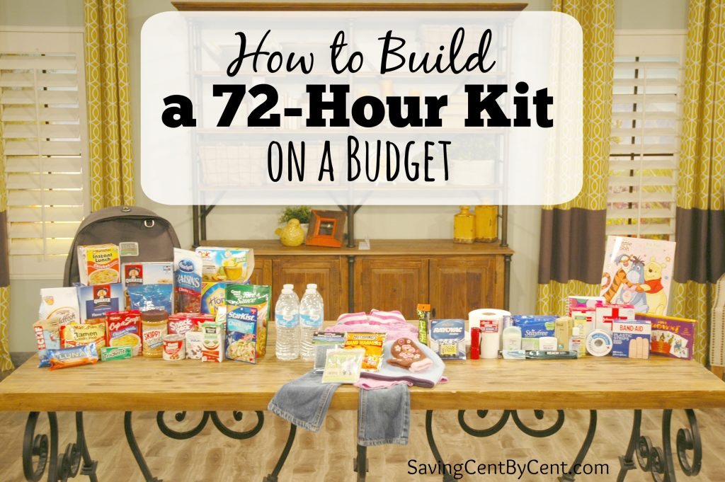 How to Build a 72-Hour Kit on a Budget