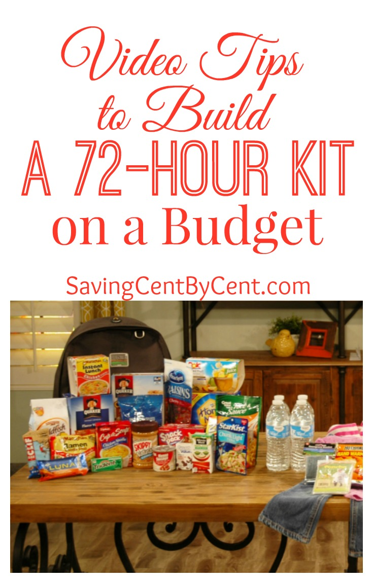 How to Build a 72-Hour Kit on a Budget Video