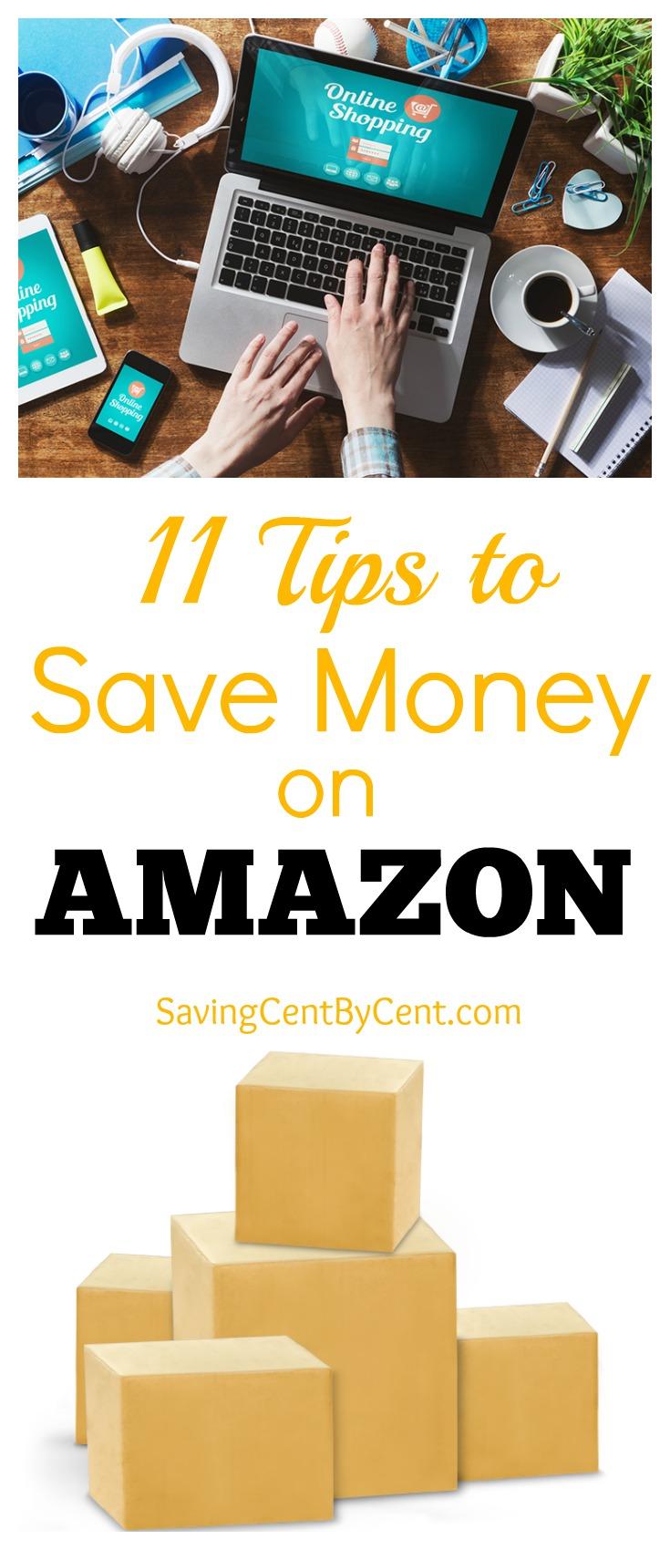 11 tips to save money on amazon