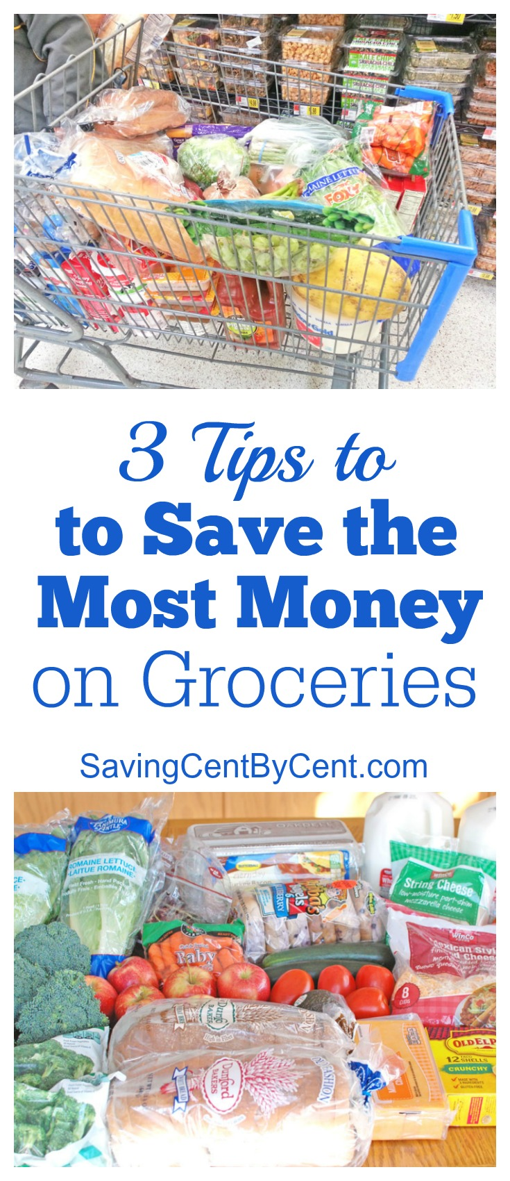 3 tips to save the most money on groceries