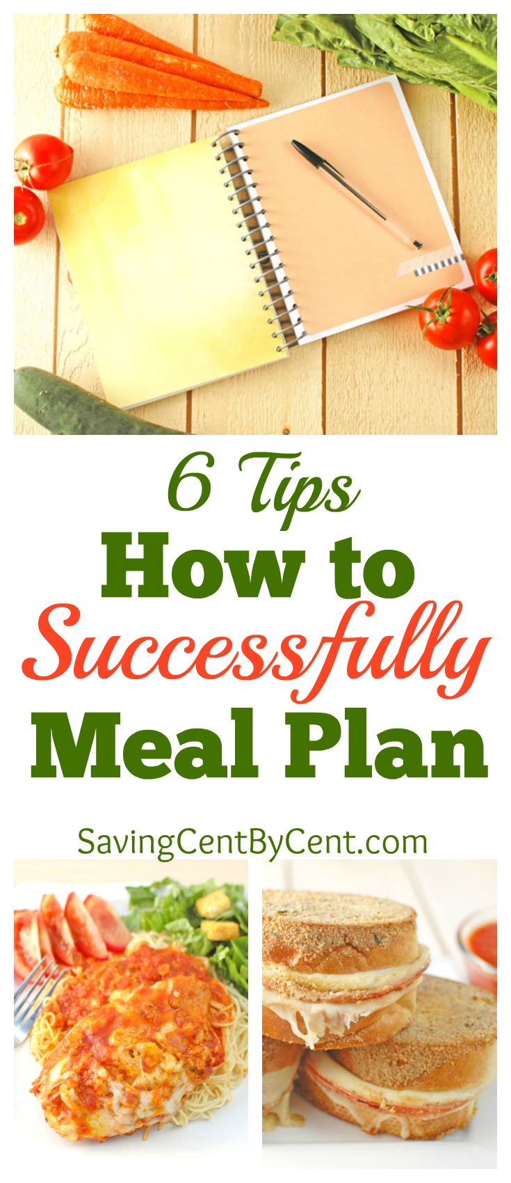 6 Tips How to Successfully Meal Plan