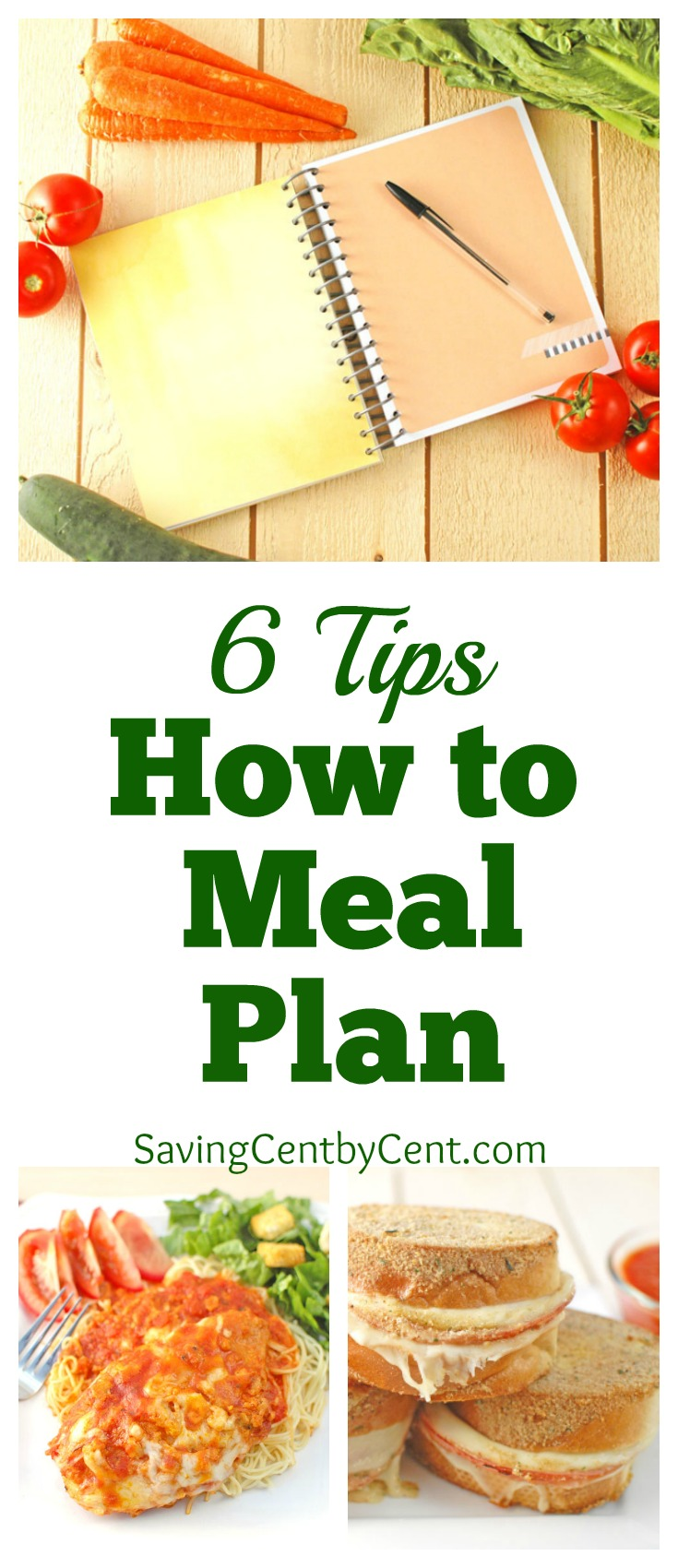 6 Tips How to Meal Plan