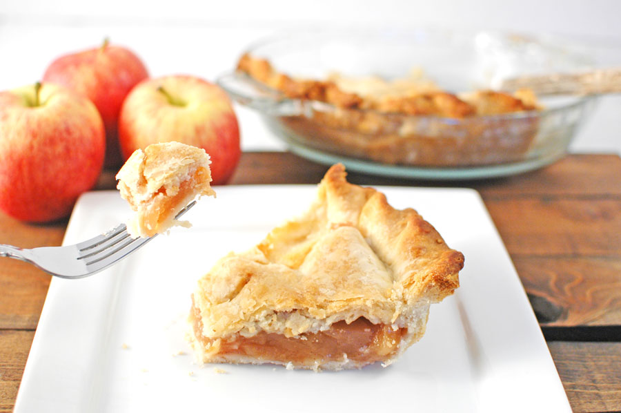 Apple pie and apple pie filling