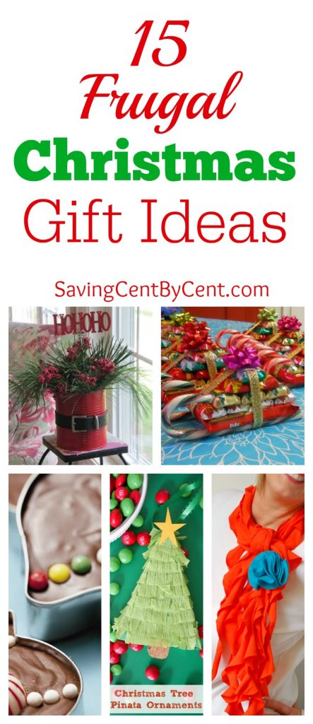 15 Frugal Christmas Gift Ideas