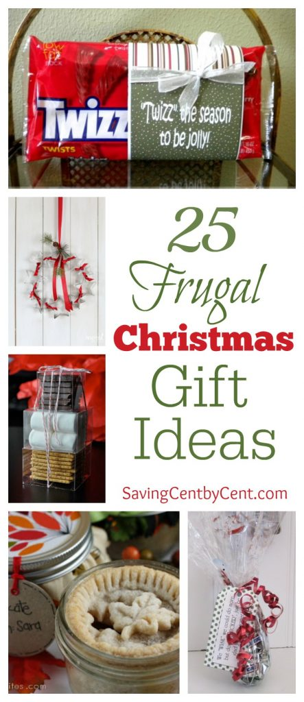 25 Frugal Christmas Gift Ideas
