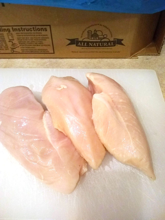 Bonesless Skinless Chicken Breasts Savory Butcher