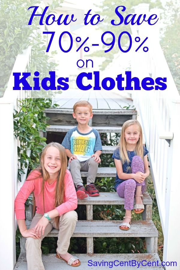 How to Save on Used Kids Clothes