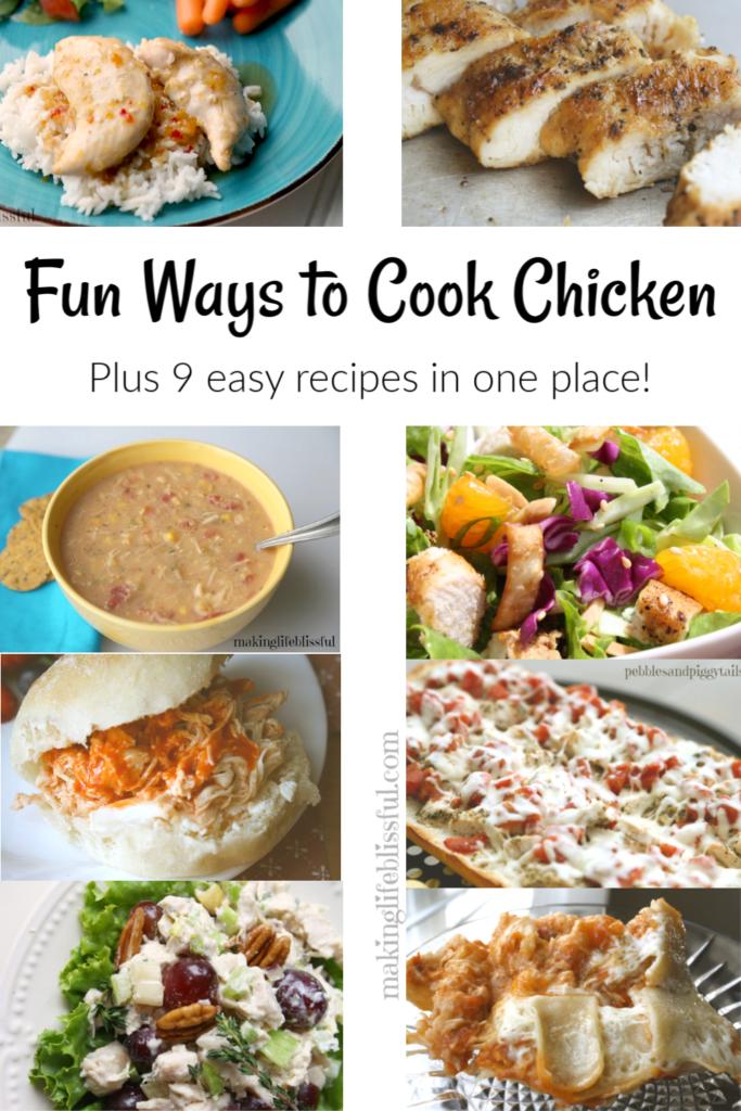 Fun Ways to Cook Chicken