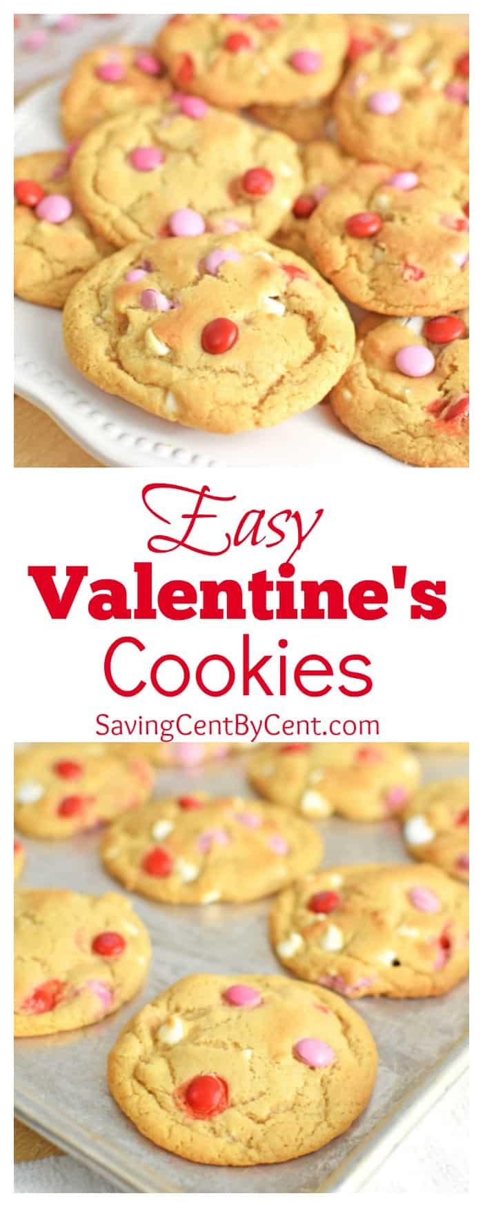 Easy Valentine's Cookies
