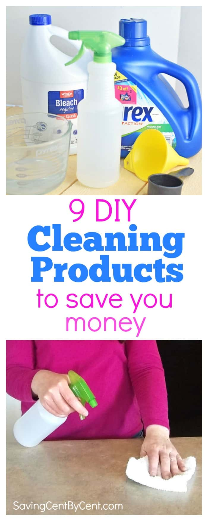 9 DIY Cleaning Products
