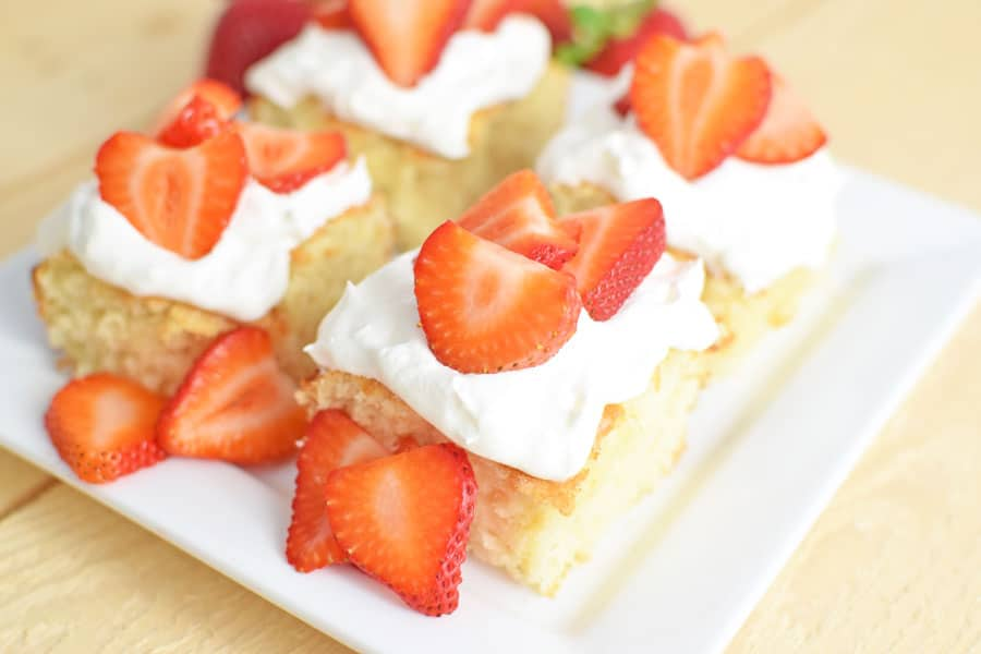 Moist Strawberry Shortcake Recipe