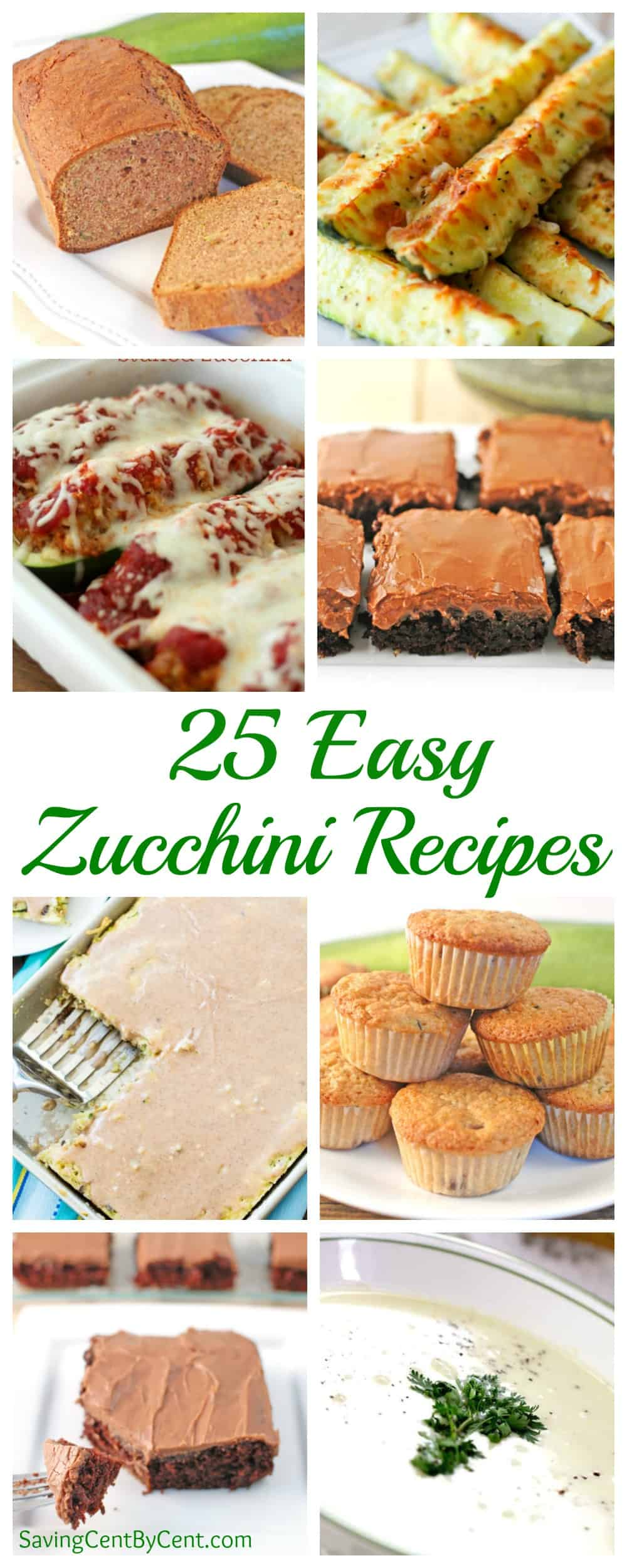 25 Easy Zucchini Recipes