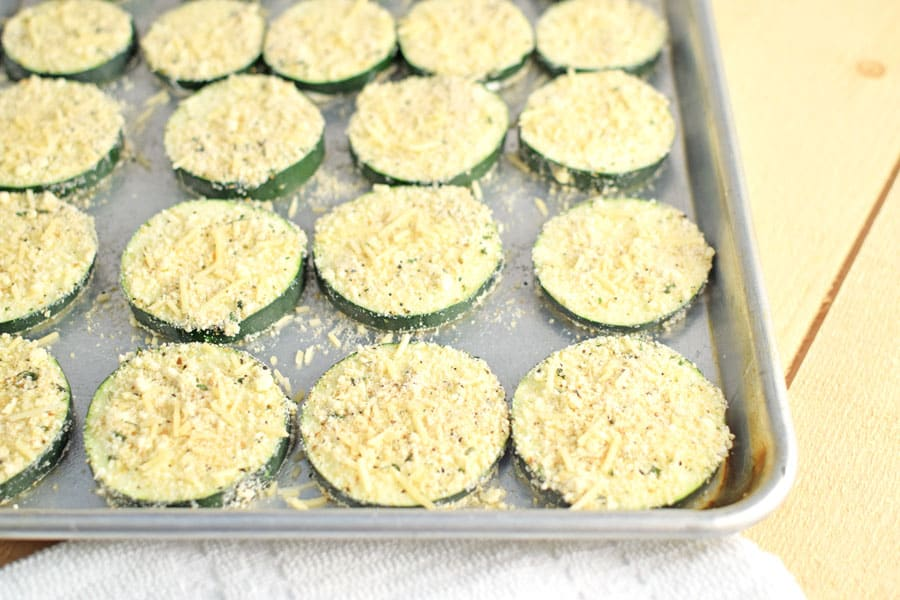 Breaded Parmesan Zucchini Chips