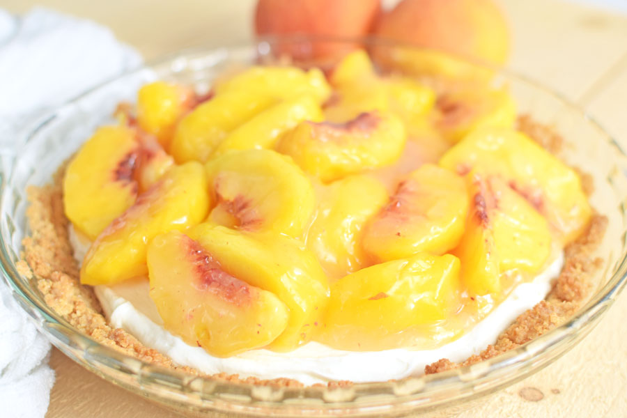 How to make peach pie filling from scratch