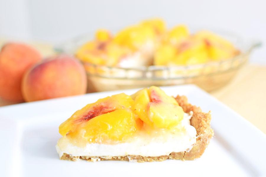 Homemade peach pie recipe