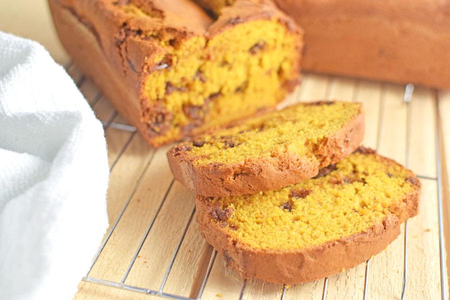 pumpkin bread chocolate chip recipe