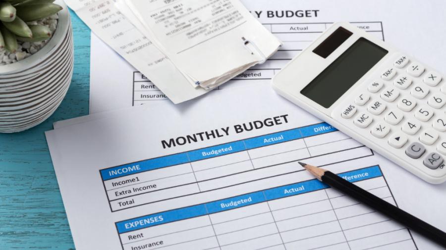 how to create a budget