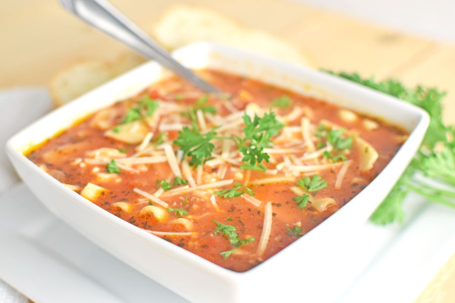 Easy Lasagna Soup Recipe