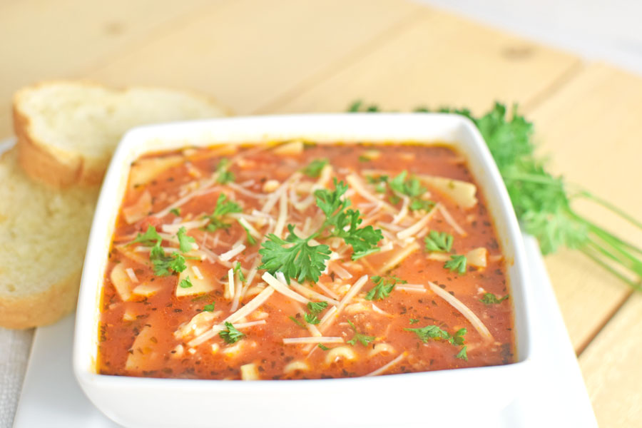 Lasagna soup recipe ground beef