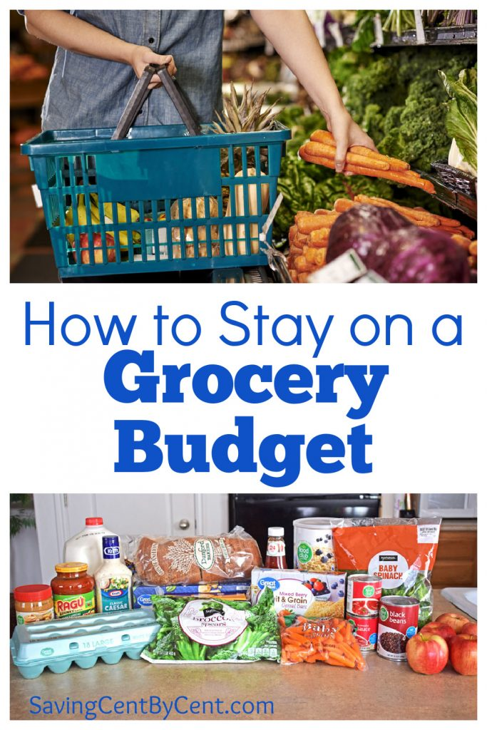 How to Stay on a Grocery Budget