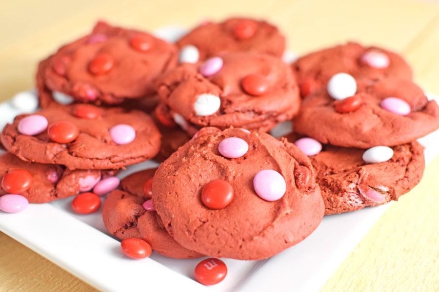 Easy Red Velvet Cookies