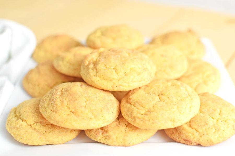 Snickerdoodle pumpkin cookie recipe